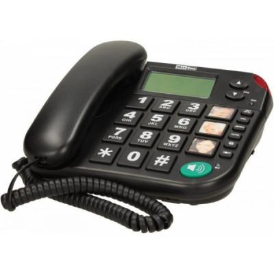 MAXCOM TELÉFONO KXT480 NEGRO