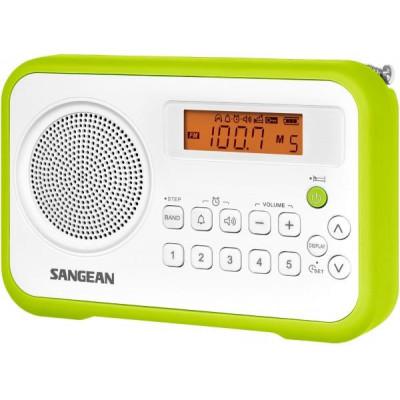 SANGEAN PR-D18 WHITE/GREEN