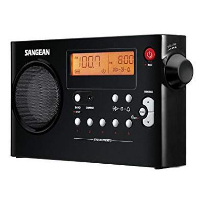 SANGEAN RADIO PACK PR-D7 NEGRO