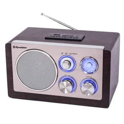 ROADSTAR WOODEN FM RADIO