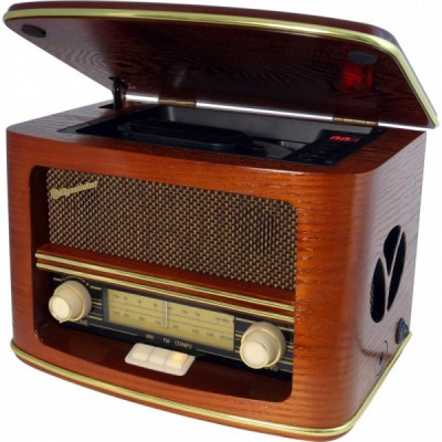 ROADSTAR WOODEN MW/FM HOME...