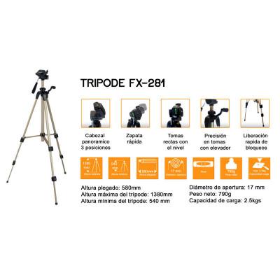 FOXMAN TRIPODE WT3710 FX281