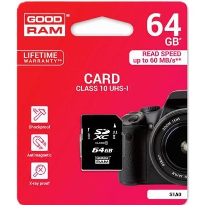 GOODRAM SD 64GB CLASS10