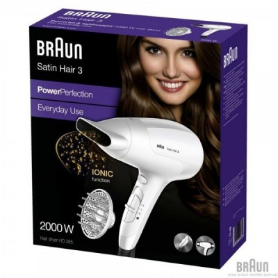 BRAUN SECADOR POWER...